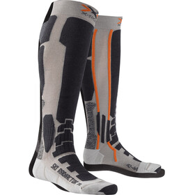 X-Socks Ski Radiactor Xitanit Technology Socks Silver/Anthracite